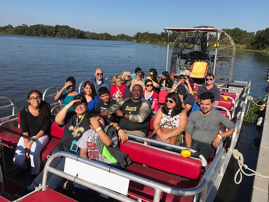New Orleans Airboat Tours family fun in new orleans