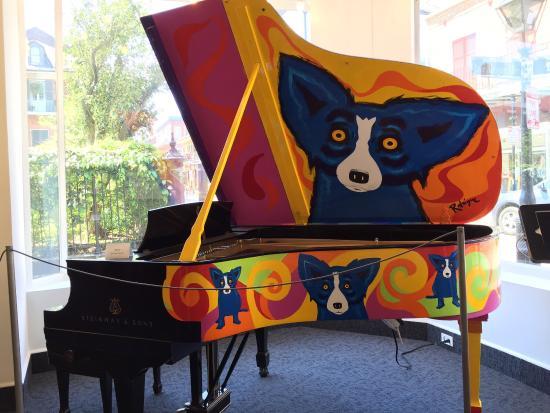George Rodrique studio fun in new orleans