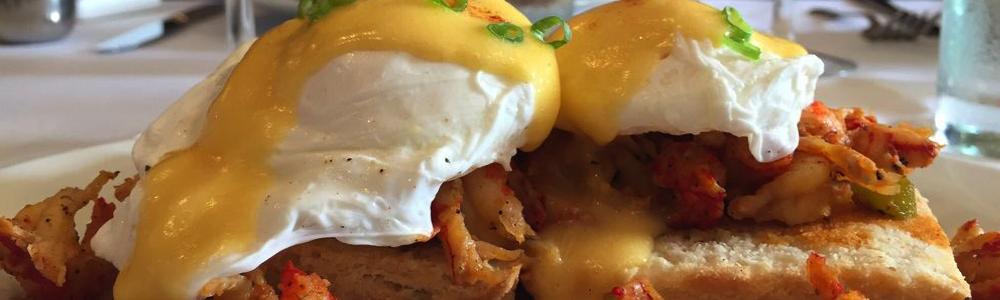 Apolline bistro crawfish eggs benedict fun in new orleans