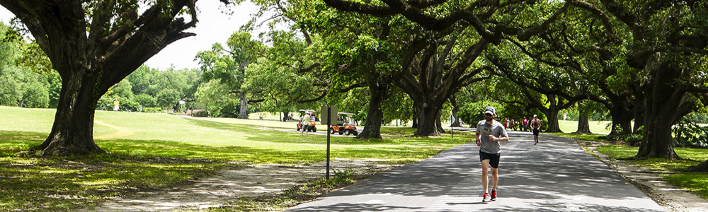 Audubon Park New Orleans family fun in new orleans outdoors