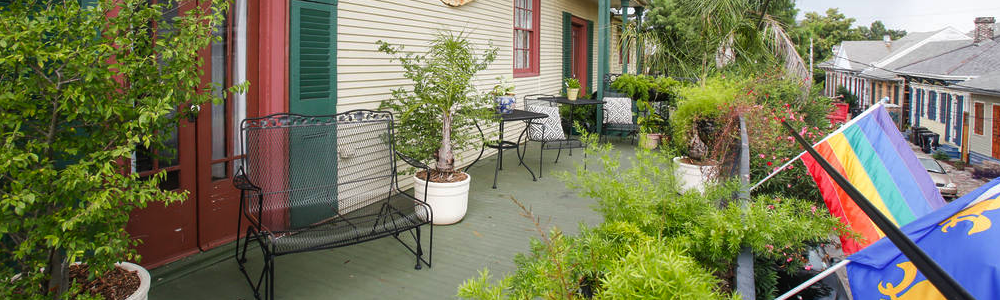 Balcony Guesthouse New Orleans Bed and Breakfasts fun in new orleans