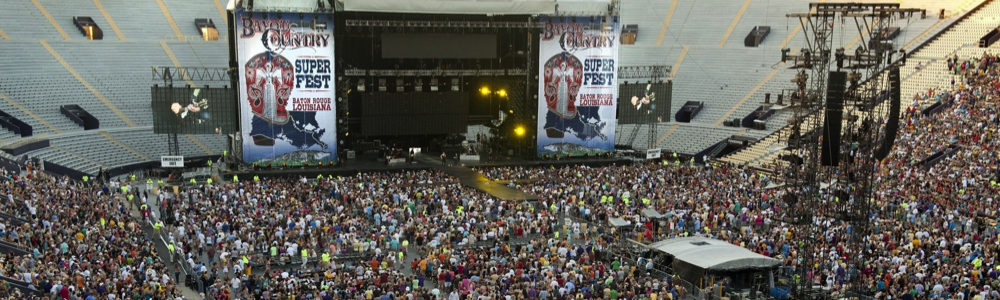 Bayou Country Superfest Spring Music Festivals fun in new orleans