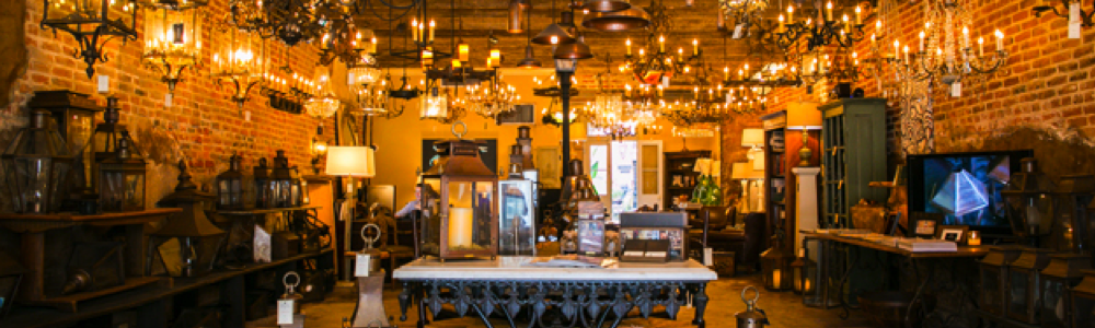 best new orleans art galleries Bevolo Gas and Lights lamps fun in new orleans