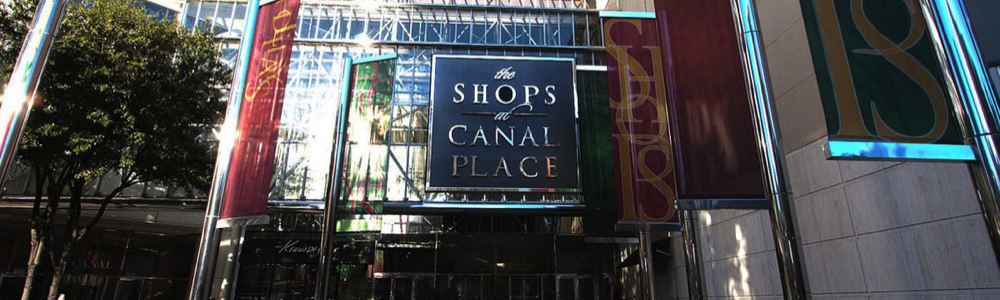 best new orleans shopping malls Shops at Canal Place fun in new orleans
