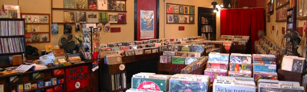 best new orleans music shops Domino Record Shack vinyl fun in new orleans