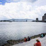 Crescent City Bridge fun in new orleans