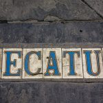 famous historic new orleans decatur street signs mosaic fun in new orleans