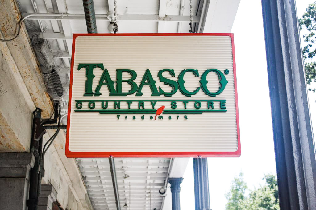 Tabasco Store jackson square fun in new orleans