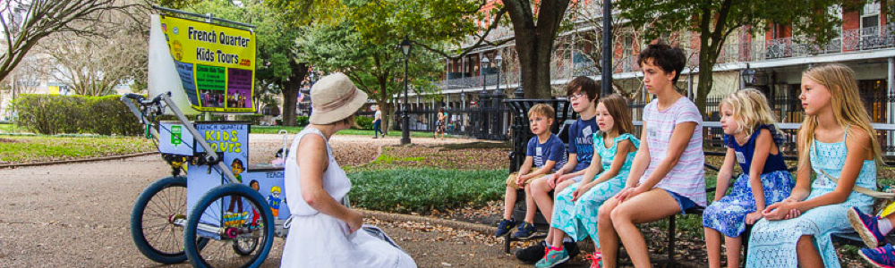 French Quartour Kids Tours fun in new orleans