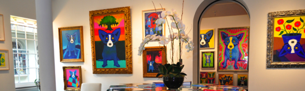 best art studios in new orleans George Rodrigue blue dog fun in new orleans