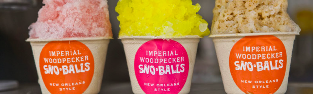 Imperial Woodpecker best snowballs fun in new orleans