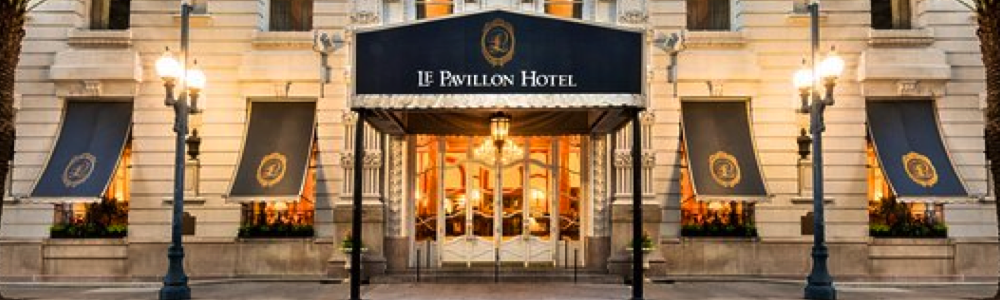 Le Pavillon New Orleans hotels fun in new orleans