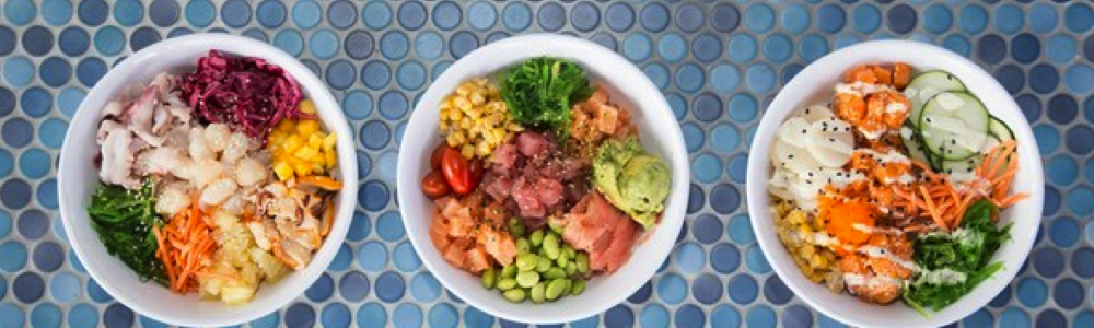 Lemonshark poke bar restaurant fun in new orleans