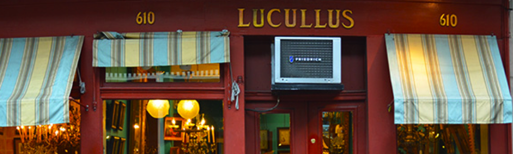 best new orleans antique art Lucullus fun in new orleans
