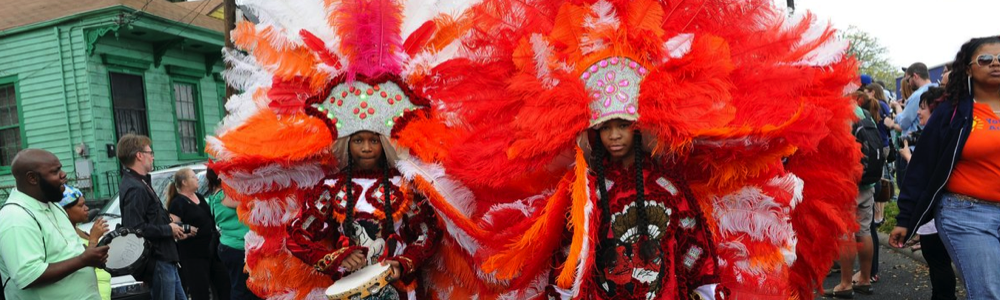 Mardi Gras Indians Super Sunday Spring Festivals fun in new orleans