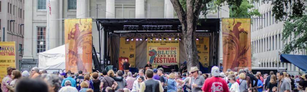 Crescent City Blues & BBQ Music new orleans Food Festivals fun in new orleans