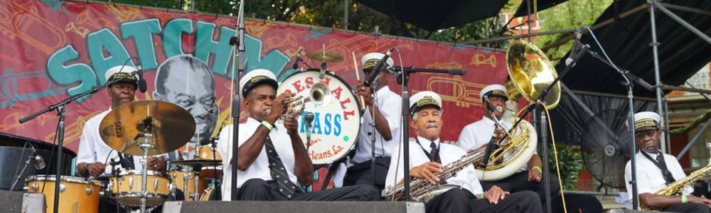 Satchmo new orleans music festivals, fun in new orleans