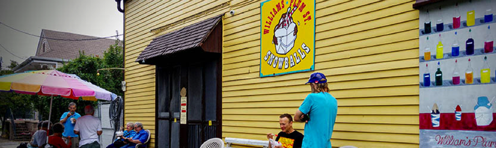 Plum Street best snowballs fun in new orleans