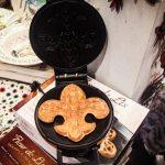Roux Royale shop waffle iron fleur de lis fun in new orleans