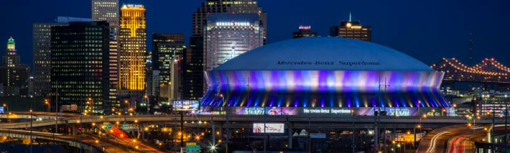 Mercedes Benz Superdome fun in new orleans