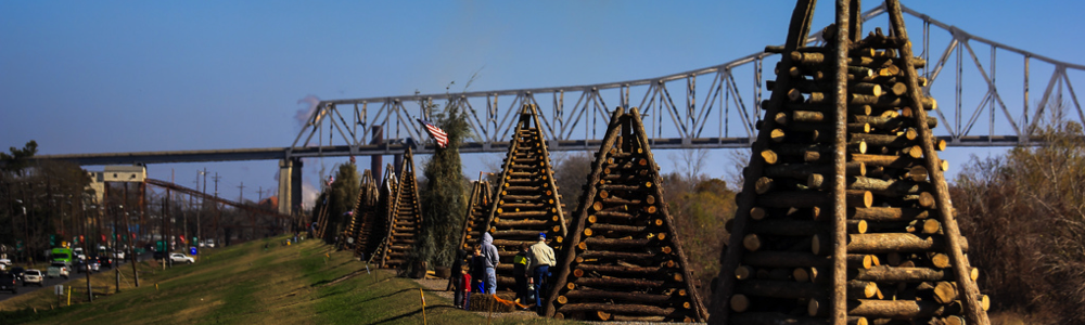 Levee Bonfires Winter Festivals family fun in new orleans