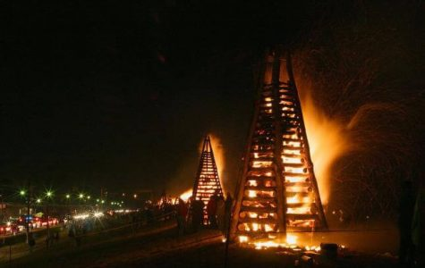 Christmas Bonfires Winter Festivals fun in new orleans