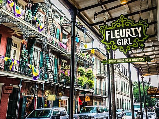 French Quarter shops fun in new orleans fleurty