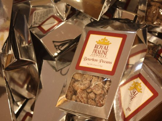 new orleans souvenir shops Royal Praline Company fun in new orleans sweets candied pecans bourbon