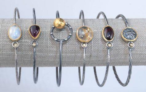 Symmetry Jewelers fun in new orleans jewelry shop