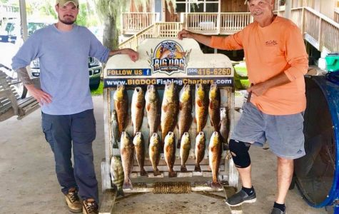 Big Dog Fishing Charters New Orleans Fishing & Boating family fun in new orleans